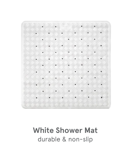 Zogics Commercial Rubber Shower Mat